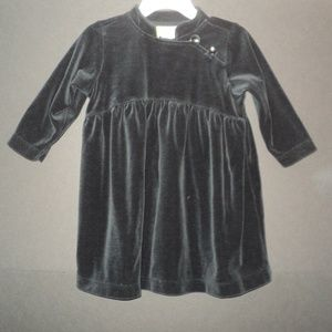 Hanna Andersson Size 80 (12-24 Mos) Black Dress